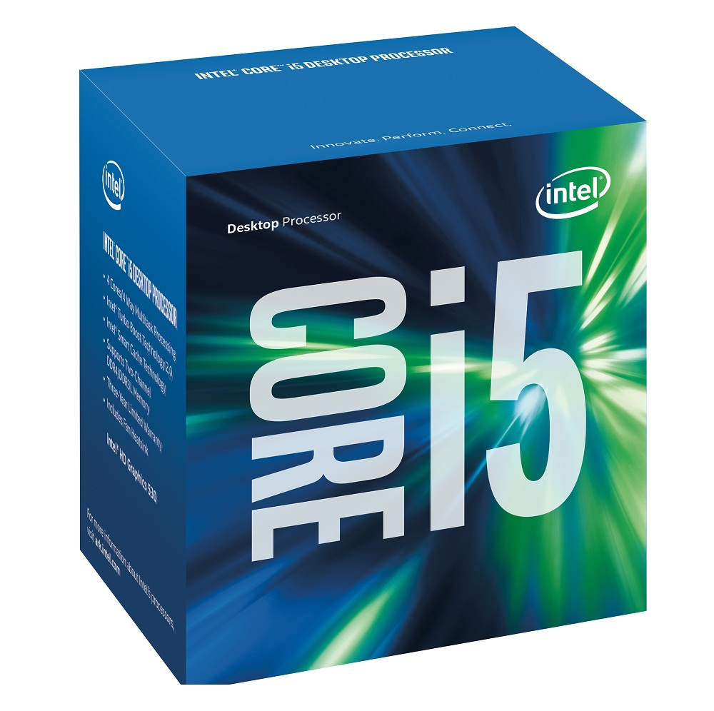 CPU Intel Core i5 6400 (Up to 3.3Ghz/ 6Mb cache)