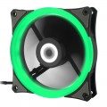 Quạt case GAMEMAX Ring 12 LED - Green